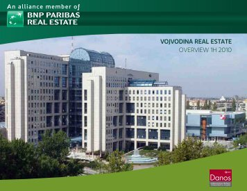 vojvodina real estate overview 1h 2010 - DANOS