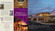 History and Architecture of the Music Center at Strathmore