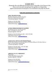 Liste des participants R-3526-04 - Site internet