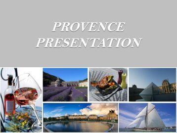 Provence presentation - w travel france