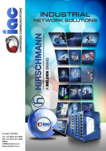 IAC - Hirschmann Industrial Switches Shortform Catalog