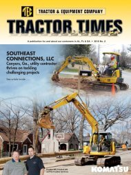 SOUTHEAST CONNECTIONS, LLC - TEC Tractor Times