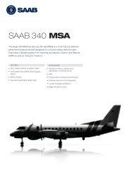Datasheet - Saab 340 MSA