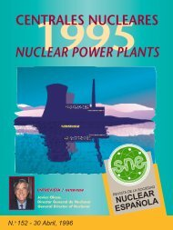 CENTRALES NUCLEARES NUCLEAR POWER PLANTS