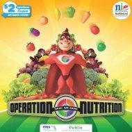 Operation Nutrition Grades 3-5th