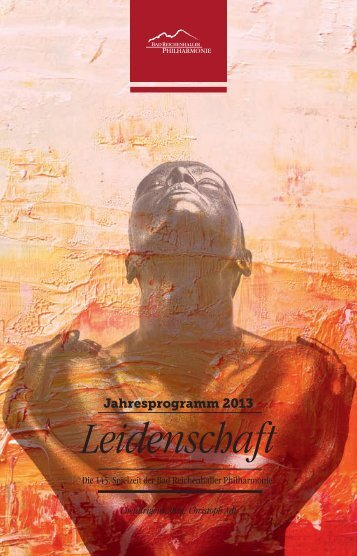 Leidenschaft - Bad Reichenhaller Philharmonie