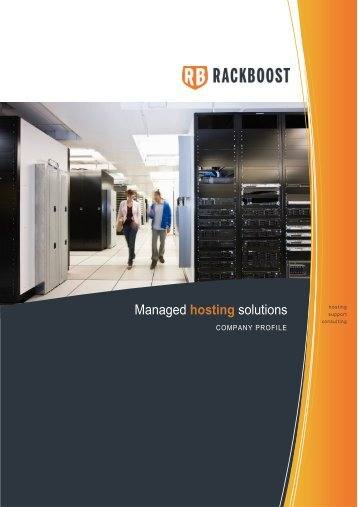 Managed hosting solutions - RACKBOOST