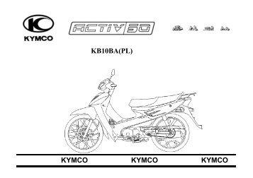 KB10BA(PL) 光陽機車KYMCO 光陽機車KYMCO 光陽 ... - Motor-Land