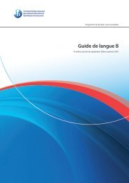 Guide de langue B - Bureau virtuel de la CSSMI