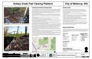 Kelsey Creek Fish Viewing Platform - City of Bellevue