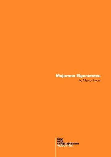 Majorana Eigenstates - Fine Arts Unternehmen