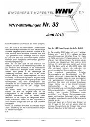 bitte den Link anklicken - Windenergie Nordeifel eV