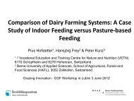 Comparison of Dairy Farming Systems - European Grassland ...