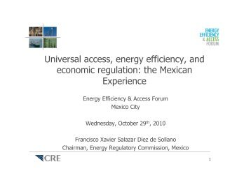 20100929 Foro Eficiencia Energetica.ppt.pptx - Foro EEA