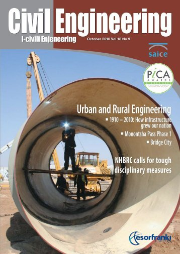 Urban and Rural Engineering - SAICE