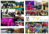 TY Newsletter 2012 - St. Gerard's School