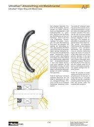 Ultrathan®-Abstreifring mit Metallmantel - Parker Hannifin Corporation