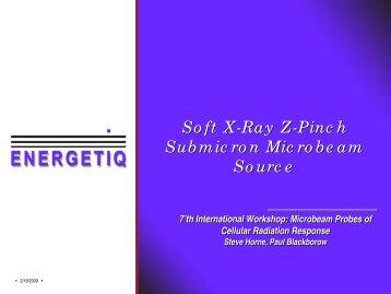 Why soft X-ray Microbeam?