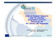 Guide on European Community rules for awarding procurement ...