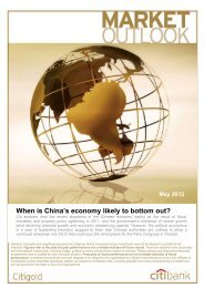 When is China's economy likely to bottom out? - Citibank