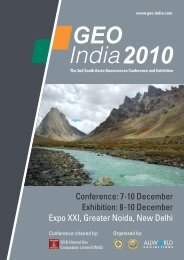 GEO India 2010 - Allworld Exhibitions