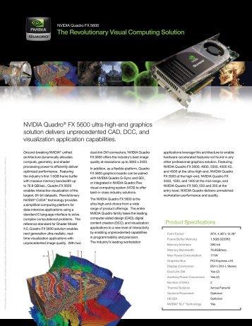 The Revolutionary Visual Computing Solution - Cad2