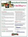 Agricultural Sciences Internship Program at Walt Disney World - Page 2