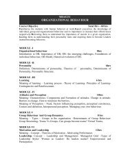 MBAE231 - Christ University