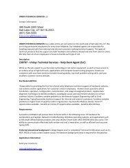 Unisys Technical Services - WGU Alumni Community