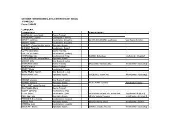notas 1º parcial Historiografia - Facultad de Trabajo Social
