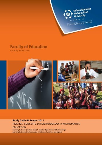 concepts and methodology in mathematics education - Nelson ...