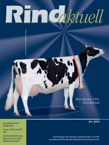 Miss Karow 2011 RZA Karina - Rinderzucht Mecklenburg ...