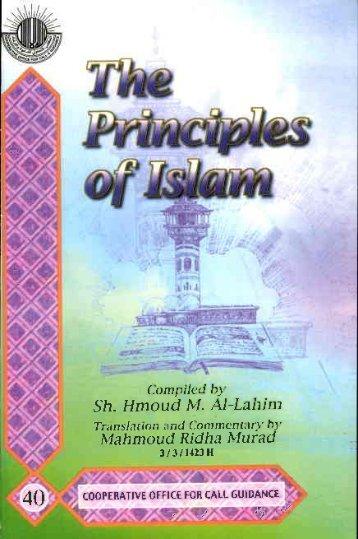 The Principles of Islam - PDF - Islam 114 Dawah Group
