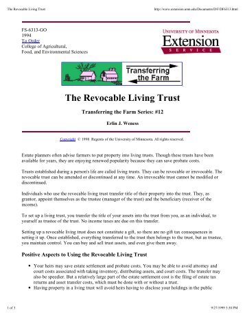 The Revocable living trust.pdf