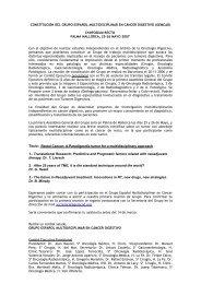 constitución del grupo español de oncología digestiva (geod)