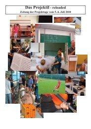 Das Projektil - reloaded - Gymnasium Altenholz