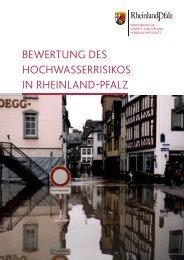 Bewertung des HocHwasserrisikos in rHeinland-Pfalz