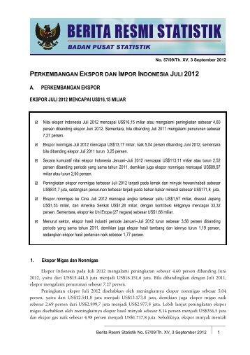 Selengkapnya (pdf-file) - Badan Pusat Statistik