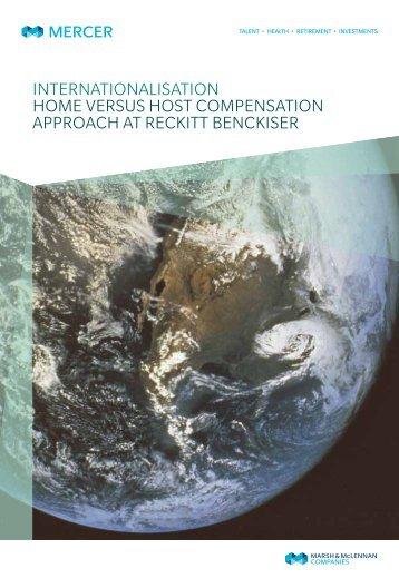 internationalisation Home versus Host compensation approacH at ...
