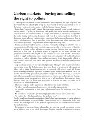 ccf678ae2b5 Carbon markets—buying and selling the right to pollute - Sierra Club .