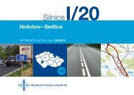 Silnice I/20 Hněvkov-Sedlice - Ředitelství silnic a dálnic