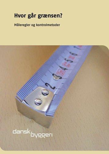Hvor går grænsen? Måleregler og kontrolmetoder (pdf) - Tolerancer