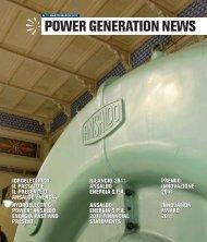 POWER GENERATION NEWS - Cerca nel sito: index
