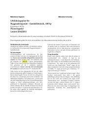 Samhällsteknik, 180 hp, start ht08 - ht09 (pdf 160 kB) - Mälardalens ...