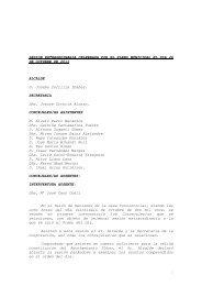 PLENO EXTRAORDINARIO - Ayuntamiento de Balmaseda
