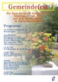 Gemeindefest Gemeindefest - Paul-Gerhardt-Kirchengemeinde Stein - Seite 3