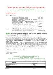 Ministero del lavoro e della previdenza sociale - Cnel