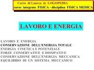 LAVORO E ENERGIA - INFN