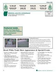 BW Update US Winter 2002 - Brock White