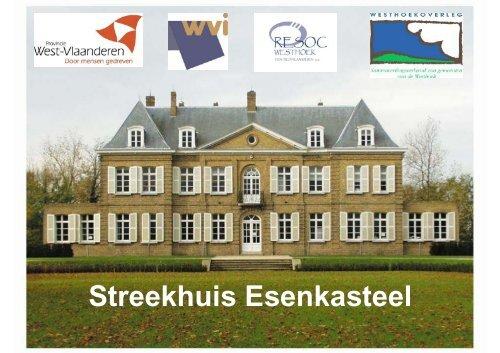 Streekhuis Esenkasteel - Meetjesland.be